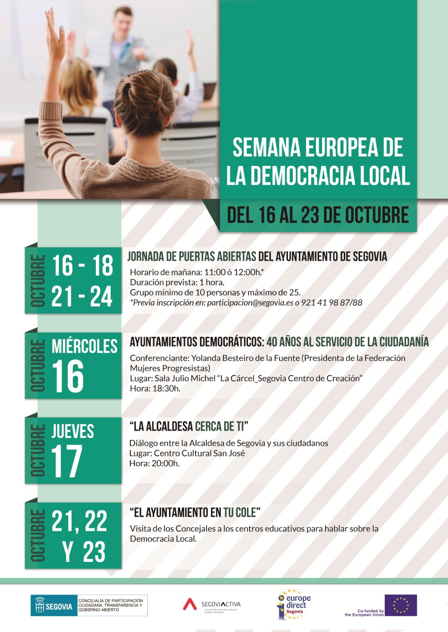 Programa Semana europea de la democracia local 1