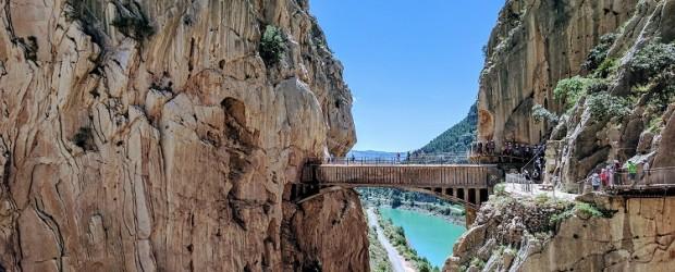 El puente del Caminito del Rey, en Málaga, es un auténtico tesoro turístico alternativo de la UE - Foto: Pixabay