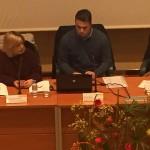 Pamela Saura y Gonzalo Otones narrando la experiencia vivida en Italia.